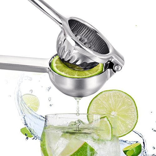 Lime, Premium Qualität Metall Lemon Lime Squeezer-Manuelle Zitruspresse Entsafter Fruit Orange Lemon Tomate Hand Saftpresse Maschine L Aluminium-lime Squeezer