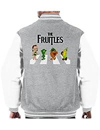 The Fruitles Abbey Road Frutties Beatles Men's Varsity Jacket