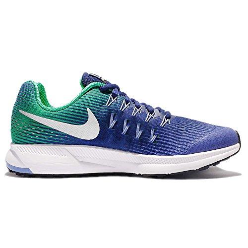 Nike Zoom Pegasus 33 (GS) Paramount Blue / Metallic Silver