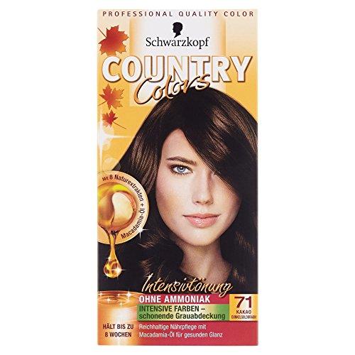 Country Colors Intensivtönung, 71 Kakao Dunkelgoldbraun, 1 Stück