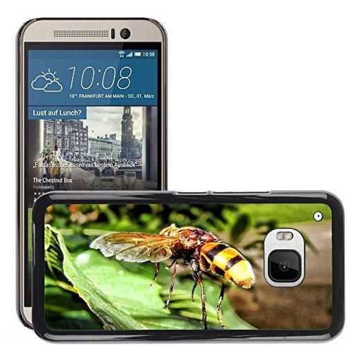 Carcasa Funda Prima Delgada SLIM Casa Case Bandera Cover Shell para // M00130125 Vespa Insect Yellow Jacket Sting // HTC ONE M9