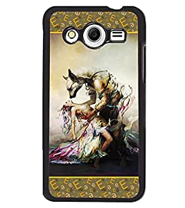 Fuson 2D Printed Girly Designer back case cover for Samsung Galaxy Core 2 - D4188