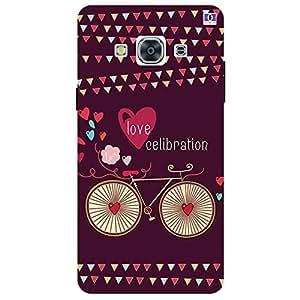 Love Celibration - Mobile Back Case Cover For Samsung Galaxy J3 Pro