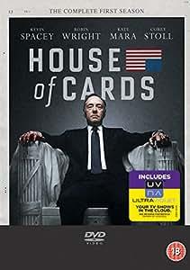 House Of Cards - Season 1 (DVD + UV Copy)