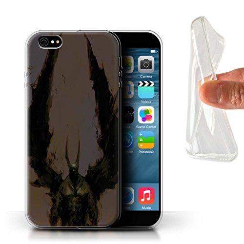 Offiziell Chris Cold Hülle / Gel TPU Case für Apple iPhone 6+/Plus 5.5 / Teufel/Tier Muster / Wilden Kreaturen Kollektion Teufel/Tier