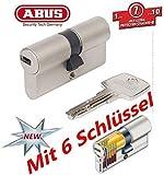 ABUS EC550 Profil-Doppelzylinder Länge 35/45mm mit 6 Schlüssel