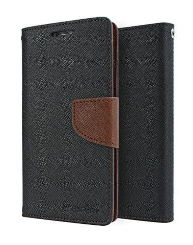Samsung Galaxy Core Prime G360 Flip Cover By Relax And Shop (Black Brown)  available at amazon for Rs.179