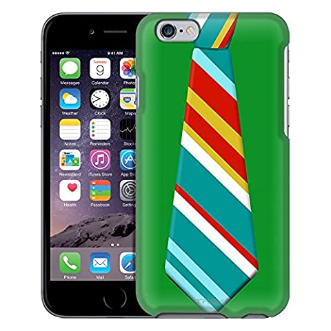 Apple iPhone 6 Case, Snap On Cover by Trek Christmas Necktie 1 Case