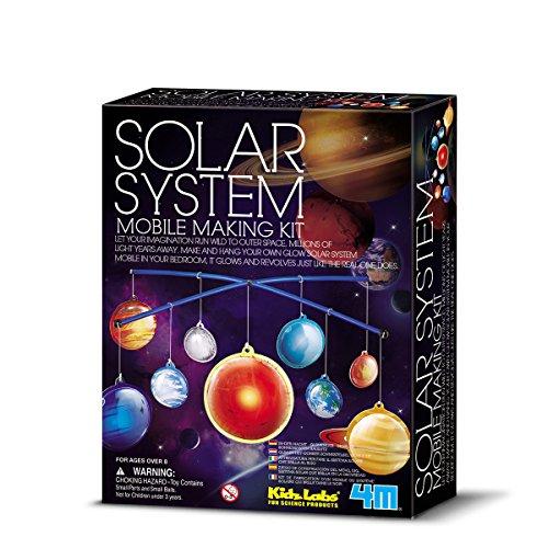 4m Kidz Labs Solar System Mobile Bastelset Planet Mobile