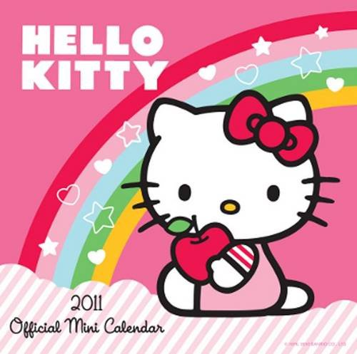 The Official Hello Kitty 2011 Mini Calendar