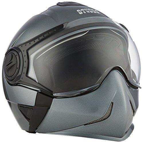Studds Full Face Helmet Downtown (Gun Grey, M)