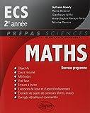 Mathématiques ECS 2e année : Nouveau programme