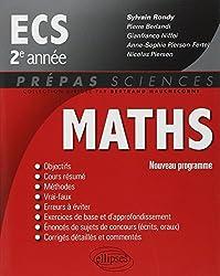 Maths ECS 2e Année Programme 2014