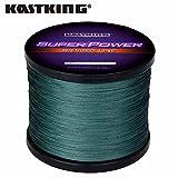 Bluee, 8.0: [Nouvel An vente] Kastking 1000m/1097yds 10–36,3kilogram PE multifil tressée Ligne de pêche 4brins 5couleurs Ligne de pêche en mer