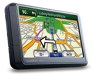Garmin nüvi 255WT Navigationssystem Europa inklusive TMC, 10,9 cm (4,3 Zoll) Touchscreen Display, PhotoNavigation, SD-Kartenslot und ecoRoute