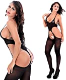 Cctiwee Fishnet Bodystocking Plus Size Crotchless Bodysuit Lingerie For Women