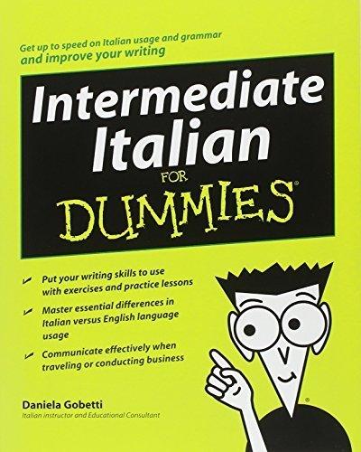 Intermediate Italian For Dummies by Daniela Gobetti (2008-11-03)