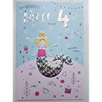Special Niece 4th Birthday Card Age Four 8581