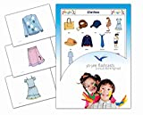 Clothing and Apparel Flash Cards - Vocabulary Picture Cards