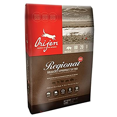 Orijen Regional Red Dry Cat and Kitten Food