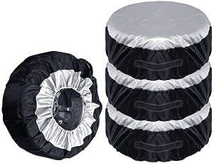1/2/4 Reifentaschen, Auto-Reifenabdeckung, Aufbewahrungstasche, Reifenschutz, 65 cm, langlebiger Oxford, passend für 13-19 Zoll Reifen.