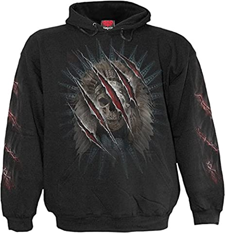 Spiral - Men - BEAR CLAWS - Hoody Black -
