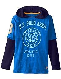 US Polo Assn. - Camiseta de manga larga - para niño