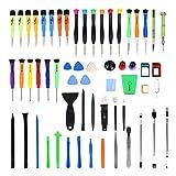 subtel® 60-in-1 Handy Reparatur Werkzeug Tool Kit für Akkuwechsel und Displaywechsel bei Smartphone, Tablet & Laptop.