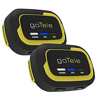 goTele Offline Outdoor Real Time GPS Tracker for Exploration Camping Climbing Skiing and Pets,Max 30 Members GPS location SMS SOS,No SIM card network required 1