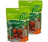 Dehner Bio Erdbeer-Dünger, 2 x 750 g (1.5 kg), für je ca. 7.5 qm