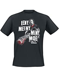The Walking Dead Negan - Eeny Meeny Miny Moe Camiseta Negro