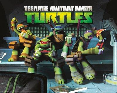 gb-eye-40-x-50-cm-sewer-teenage-mutant-ninja-turtles-mini-posters-multi-colour