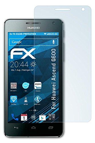 3 Huawei Ascend G600 x atFoliX-Pellicola protettiva FX-clear, colore:
