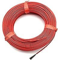 adhere to Fly 20Matters Sistema de calefacción de suelo radiante Cable infrarrojo 12K 33Ohmio