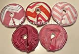 Cutie Button Pads G/j Tube Pad 5 Pack (Girls 3)
