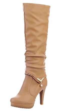 Women Autumn Winter 2 Wearing Styles Boots High Heel Boots Heeled Shoes Ankle Boots Biker Boots