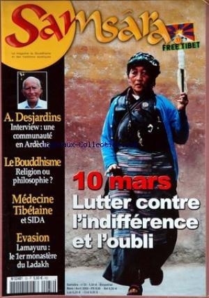 SAMSARA [No 33] du 01/03/2003