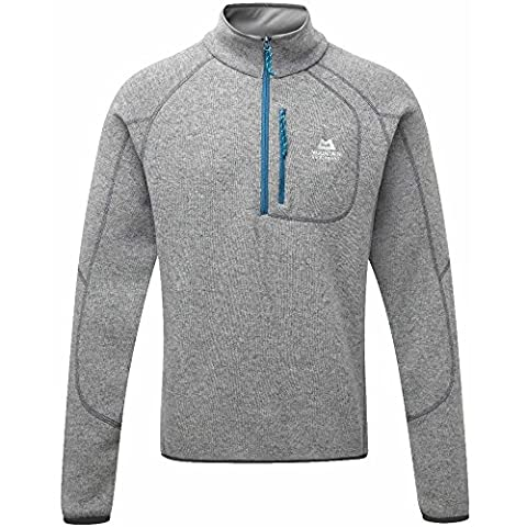 Mountain Equipment Chamonix Zip Sweater - Wollpullover, Farbe-ME:Steel;Groesse-ME:XL