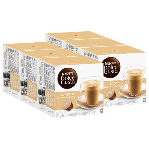 Dolce Gusto Cortado Espresso Macchiato - 96 Capsules