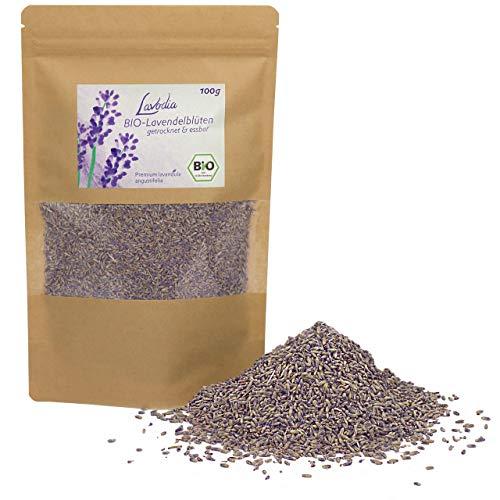 BIO Lavendelblüten getrocknet und essbar von LAVODIA, 100% rein und natürlich, köstliche Bio...