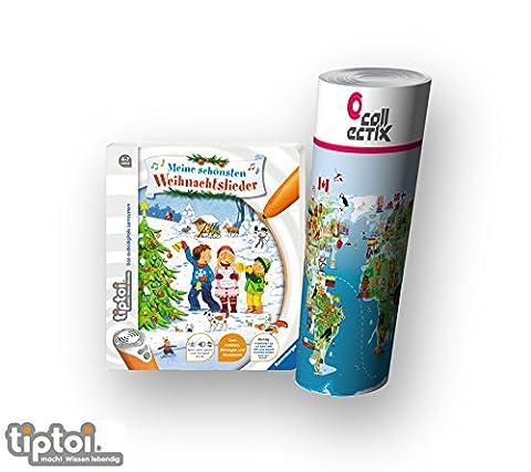 Ravensburger tiptoi® Weihnachten Musik Kinder Lieder Buch   Meine schönsten Weihnachtslieder + Kinderlieder