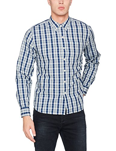Levi's Herren Freizeithemd Sunset 1 Pocket , Blau (Boxwood Indigo 311), X-Large (Button-up-shirt Kragen)