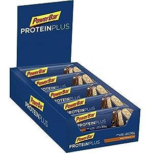 51rpc8ZuinL. SS300 PowerBar Protein Plus 33% Peanut-Chocolate 10x90g - Barra ad Alta Proteina + Proteine del Siero e della Caseina