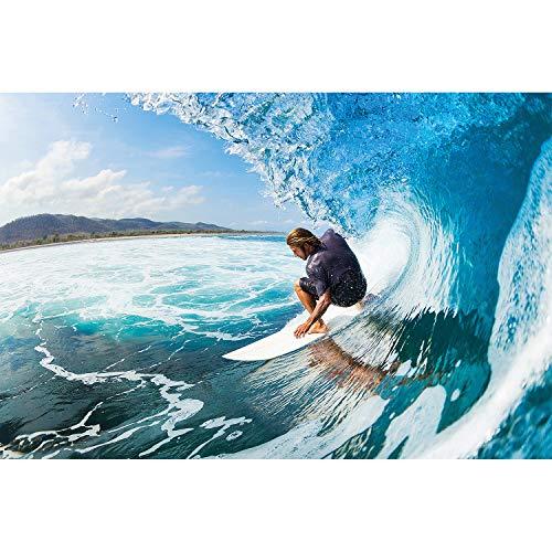 GREAT ART Póster Surfista Mural Decoración Deporte