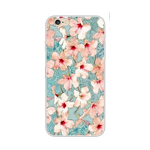 coque-iphone-6-6svankir-motif-plantes-a-fleurs-housse-transparente-housse-tpu-souple-etui-de-protect