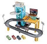 Cars 3 Garage Mit Fahrzeugen