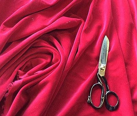 Pre Coupe 1m pièce de Claret de couture couleur coton