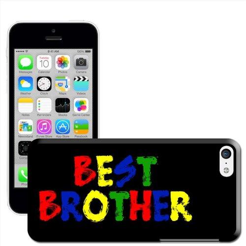 """Fancy A Snuggle Coque rigide pour iPhone Motif Best Person """" Regalo compleanno al miglior fratello"""
