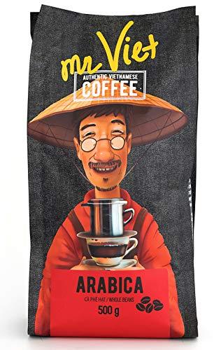 Mr Viet Arabica Kaffee Kaffeebohnen Geröstet Vietnamesischer Authentische Stark Frisch, Geeignet...