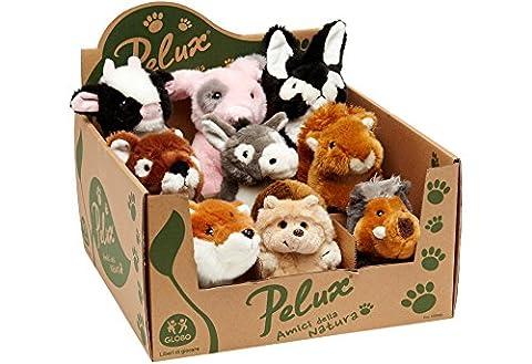 Globo Toys Globo–8335317/18cm pelux Farm und Sherwood Tiere Plüsch Spielzeug (9)